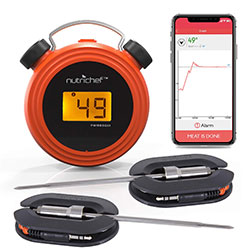 smart bluetooth bbq grill thermometer