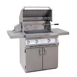 solaire 30-inch infrared propane cart grill