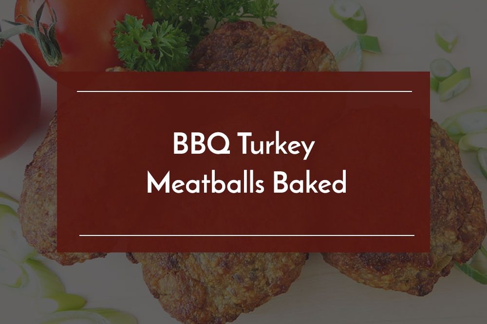 bbq turkey meatballs baked