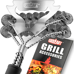 how to clean grill grates